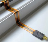 Blueqon BRD-025 Raamdoorvoer Flat Coax (Window Cable)_