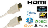Blueqon - 1.4 High Speed HDMI kabel - 3 m - Wit_