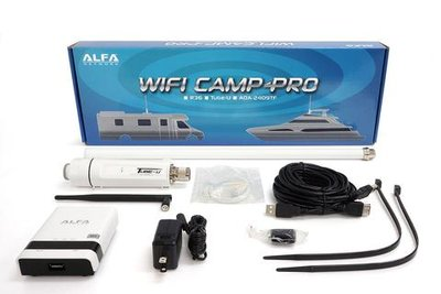 Alfa Network Camp-Pro V2 WiFi Set (incl. Antenne en router)
