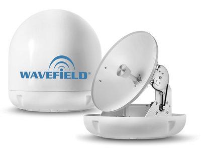 Wavefield WM-Q60 Marine Dome Quad Antenna TVRO