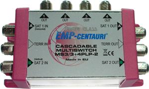 EMP-Centauri MS3/3+4PLP-2 cascade multiswitch