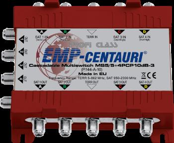 EMP-Centauri MS5/5+4PLP10dB-3 cascade multiswitch