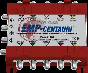 EMP-Centauri MS5/5+4PLP5dB-3 cascade multiswitch