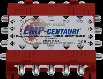 EMP-Centauri MS5/5+8PLP10dB-3 cascade multiswitch