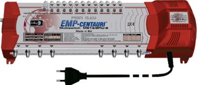 EMP-Centauri MS17/6PIU-6 DiSEqC multiswitch
