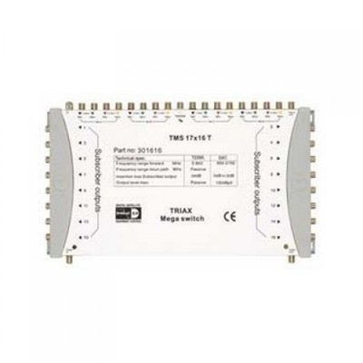 Triax TMS 17x16T terminated multiswitch