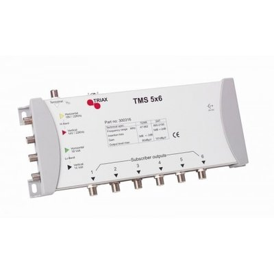 Triax TMS 5x6 standalone multiswitch