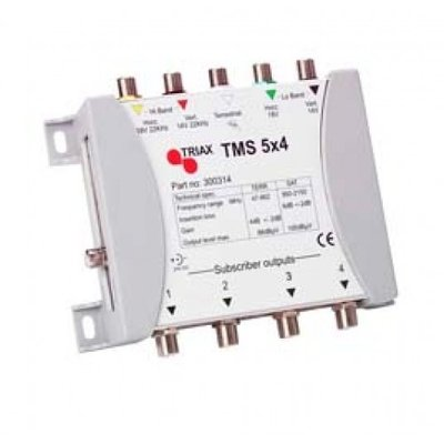 Triax TMS 5x4 multiswitch