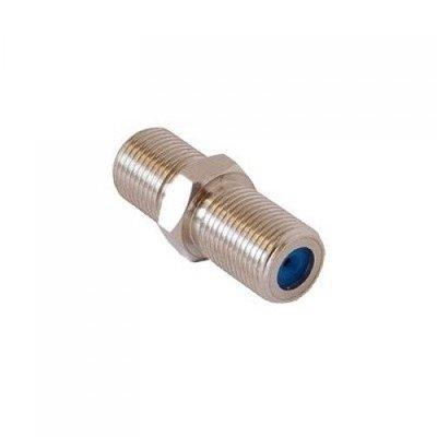 EMP-Centauri F-connector koppelstuk female (schroefbaar)