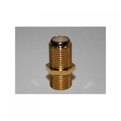 BKF4-0013 Koppelstuk Female RG6 - goud