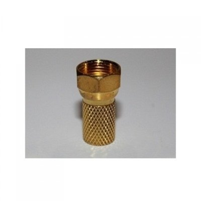 BKF4-004G F Connector RG6 - goud