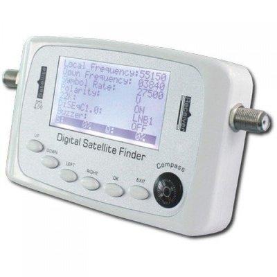 Blueqon BSF-500 Satmeter HD Digitaal - Satellietmeter | Satfinder