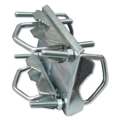 Blueqon BKX60 U-Vorm, Mastklem Geschikt tot 60mm buis diameter