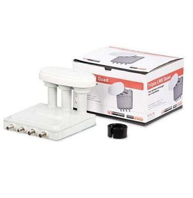 Canal Digital LNB Triple Quad - Satellietontvanger Astra 1, 2 en 3