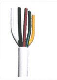 Hirschmann Coax Multikabel 5 kleuren - 100m