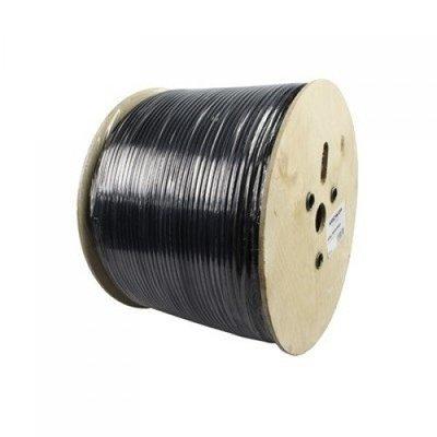 Hirschmann KOKA 799 / 500 Zwart coax kabel