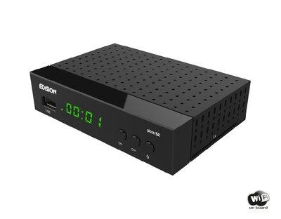 Edision PICCO S2 DVB-S2 + Wifi Satellietontvanger