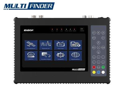 Edision Multi-Finder DVB-S2/C/T2 CCTV Tester - Satellietmeter | Satfinder
