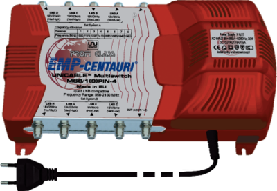 EMP-Centauri MS4/1(8)PIN-4 Unicable multiswitch