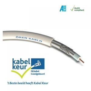 O֖ren HD113 (1.1/48) Klasse A+ EN50117 coax kabel - 20m