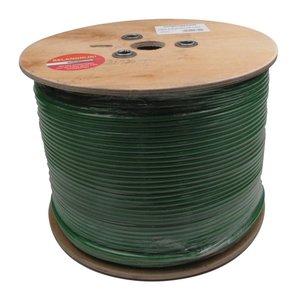 Hirschmann COAX9 Groene Grondkabel - TOM-I goedgekeurd - 500M