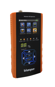 Blueqon BSF-700 Orange Satmeter HD Spectrum - Satellietmeter | Satfinder